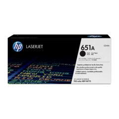 HP 651A Black Toner Cartridge
