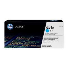 HP 651A Cyan Toner Cartridge