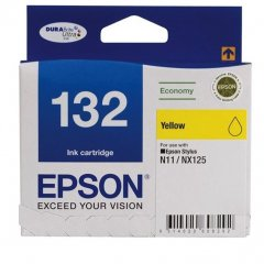 Epson 132 [C13T132492] Yellow Genuine Ink Cartridge