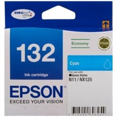 Epson 132 Cyan Genuine Ink Cartridge