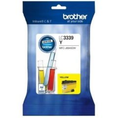 Brother LC-3339XLY Yellow Ink Cartridge (Genuine)