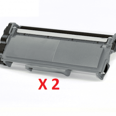 Brother TN-2350 X 2 Black Toner Cartridges