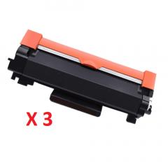 Brother TN-2450 Black Toner Cartridges X 3