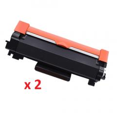 Brother TN-2450 Black Toner Cartridges X 2