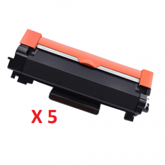 Brother TN-2450 Black Toner Cartridges X 5