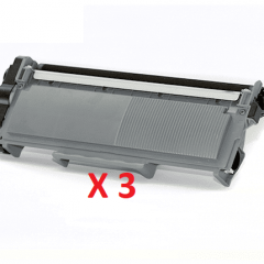 Brother TN-2350 X 3 Black Genuine Toner Cartridge
