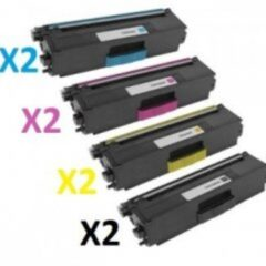 Brother TN-346 Toner Cartridges x 8