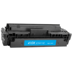 HP 411X CF410X Cyan Compatible Toner Cartridge