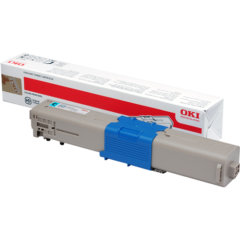 Oki C510DN 44469727 Cyan Genuine Toner Cartridge