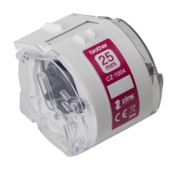 Brother CZ1004 Genuine Labels 25mm x 5m