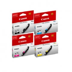 Canon CLi-671 Value Pack Ink Cartridges