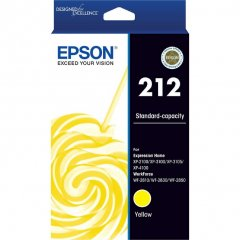 212 Epson [C13T02R492] Yellow Ink Cartridge (Genuine)
