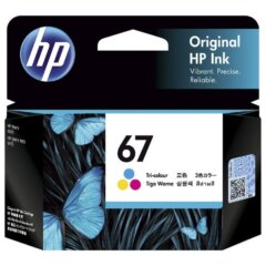 HP 67 Colour Ink Cartridge