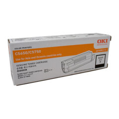 Oki C5650 Black Toner Cartridge
