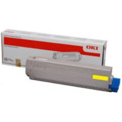 Oki C831 Yellow Toner Cartridge