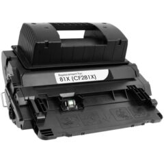 HP 81X Black Toner Cartridge