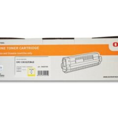 Oki C833 Yellow Toner Cartridge