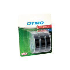 Dymo Black Embossing Label Tape