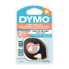 Dymo Letra Tag Paper Label Tape