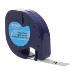 Dymo Letra Tag Plastic Label Tape