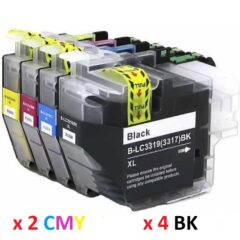 Compatible Brother LC-3319XL 10 Pack